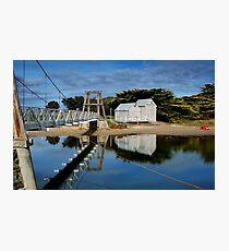Swing Bridge Lorne Photographic Print