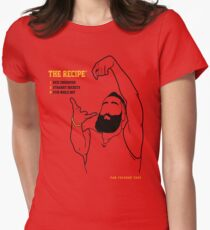 The Recipe  Women's Fitted T-Shirt