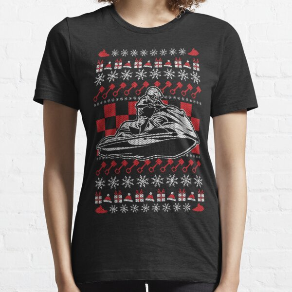 Grand Pilote De Jet Ski Heartbeat Jet Ski PWC Motorsport T-Shirt