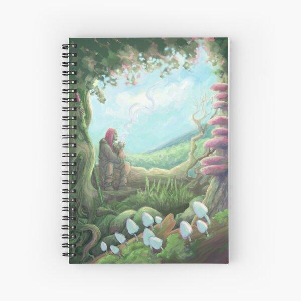 Nice Morning Spiral Notebook