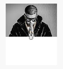 Bad Bunny Fan Art & Merch Photographic Print
