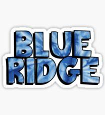 BlueRidge TieDye Sticker