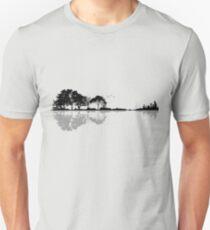 Camiseta ajustada Nature Guitar Shadow