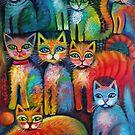 Fluffy kittens by Karin Zeller