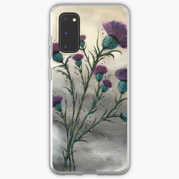 Scottish traditional purple thistle  Samsung Galaxy Soft Case
