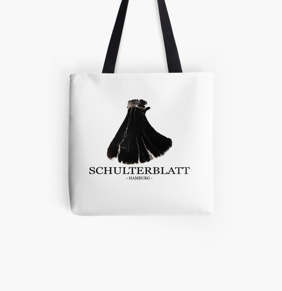 Schulterblatt Hamburg Allover-Print Tote Bag