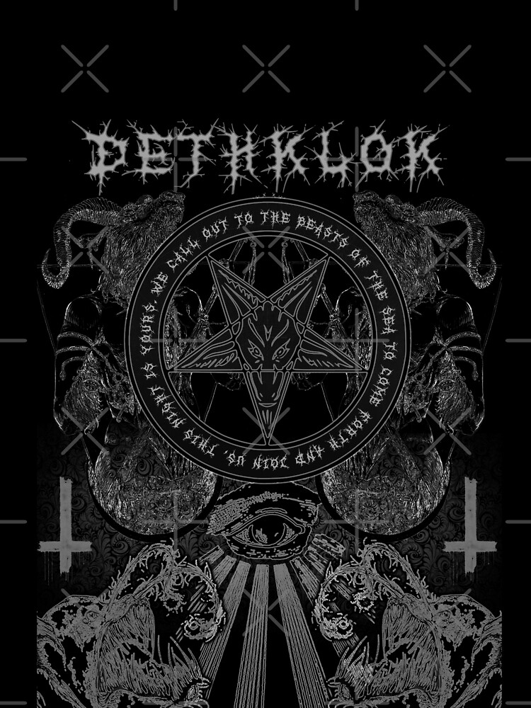 Metalocalypse - Dethklok Go Into The Water All Over Print Tee by ClassicClothing
