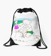 Auf zum Strand, Kinder! - ¡Vamos a la playa, niños!  -  Let´s Go to the Beach, Kids! Mochila de cuerdas