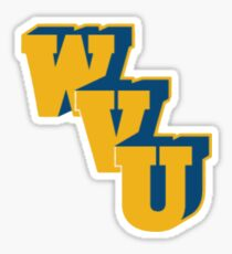WVU Logo  Sticker