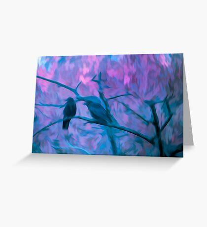 Crow Spirit Greeting Card