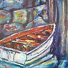 Old boat by christine purtle