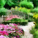 cottage garden by cynthiab