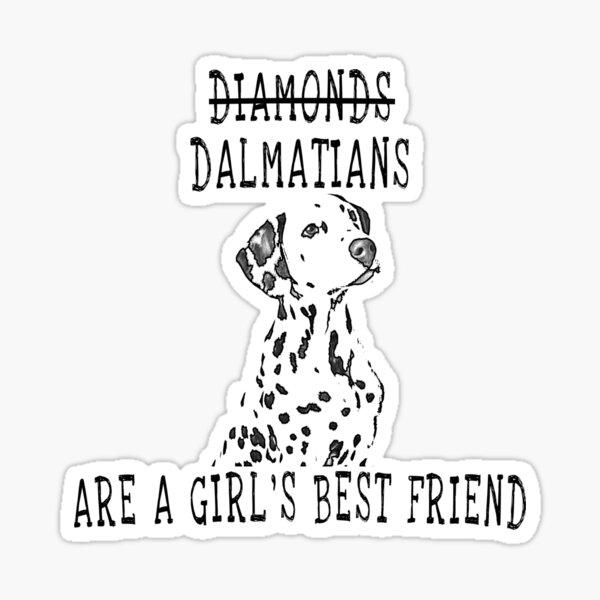 Cute Dalmatian Dog  Sticker
