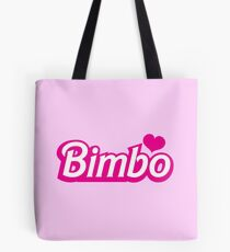 Bimbo in cute little dolly doll font Tote Bag