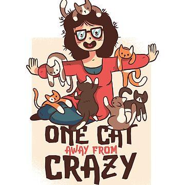 Crazy cat lady  by jama777