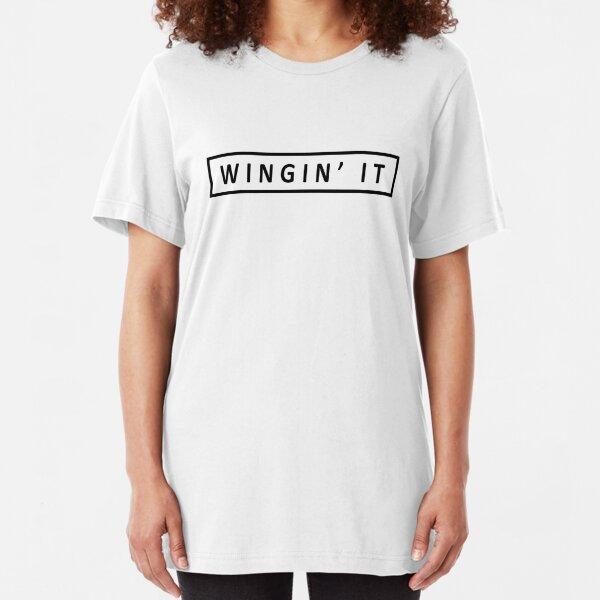 Wingin' it Slim Fit T-Shirt