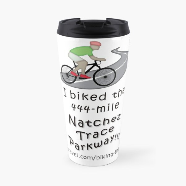 I Biked the Natchez Trace Parkway - travel mug Travel Mug