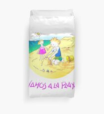 ¡Vamos a la playa, niños!  -  Let´s Go to the Beach, Kids!  - Auf zum Strand, Kinder! Funda nórdica