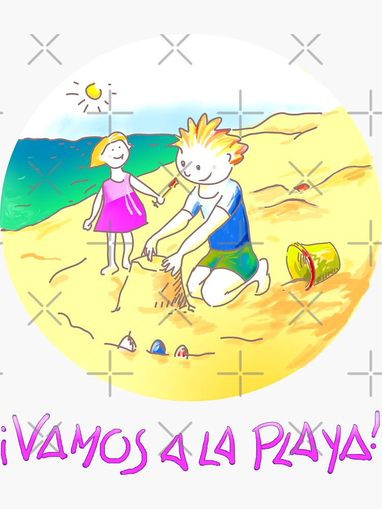 ¡Vamos a la playa, niños!  -  Let´s Go to the Beach, Kids!  - Auf zum Strand, Kinder! by reflejArte