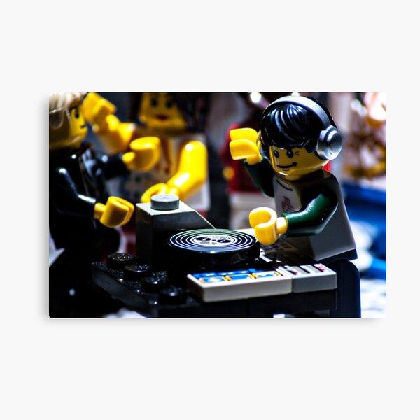 DJ Brick Canvas Print