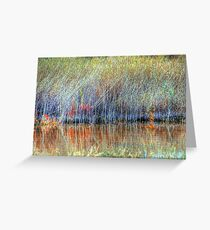 Wetland Grasses Greeting Card