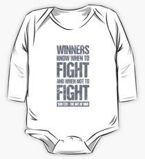 Die Kunst des Krieges von Sun Tzu - Fight Gift Baby Body Langarm