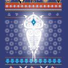 Legend of Korra Christmas Chibis by PurpleMoose