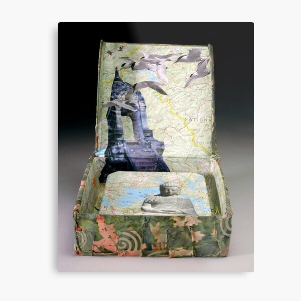 Traveling Within Metal Print