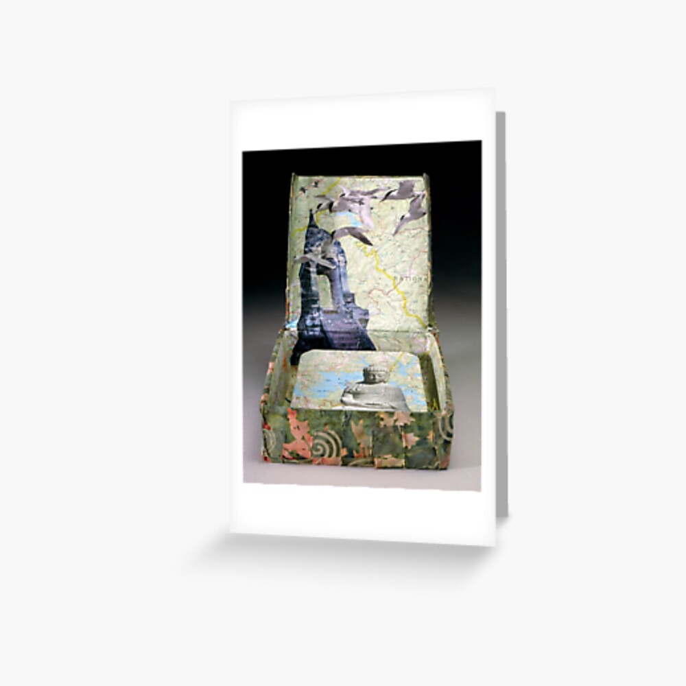 Traveling Within Greeting Card