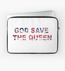 God Save The Queen Laptop Sleeve