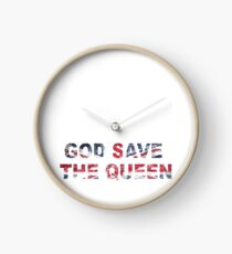 God Save The Queen Clock