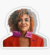 tessa thompson- s2by Sticker