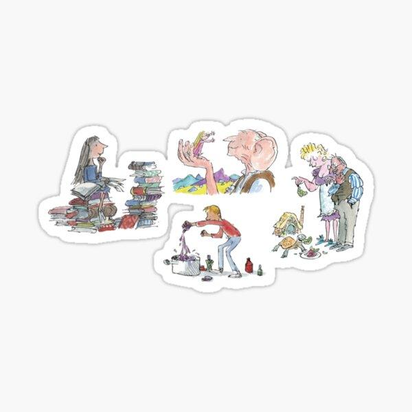 Roald Dahl Sticker
