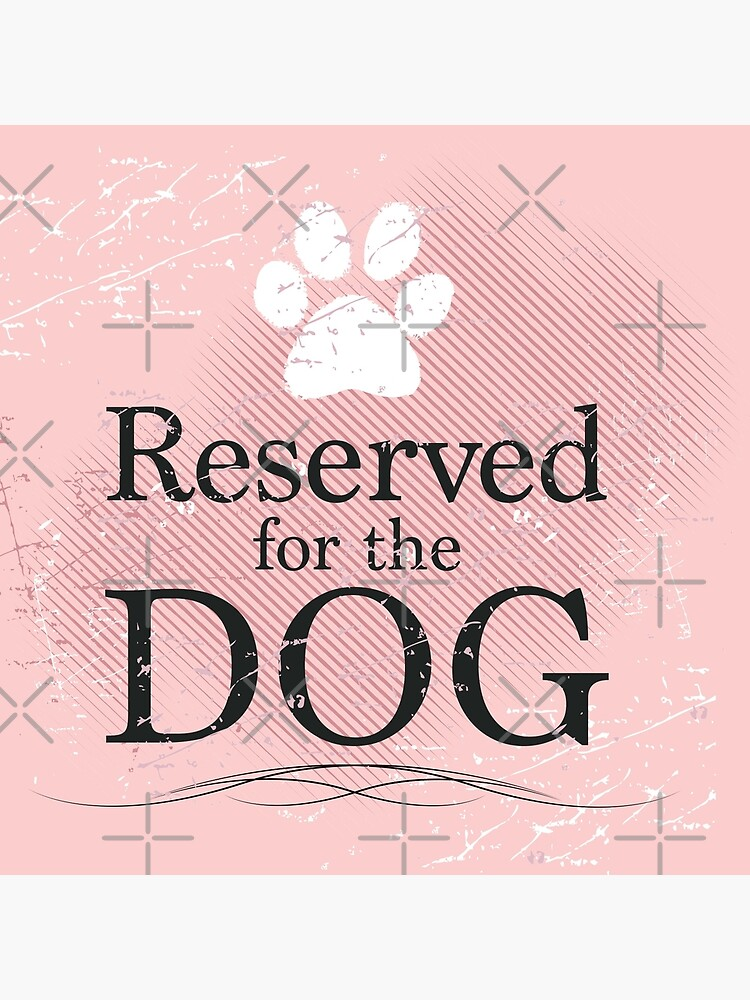 Reserved for the Dog [pink] by rescuedogs101