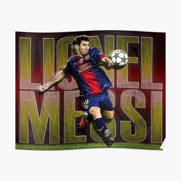 Camisa de Lionel Messi Póster