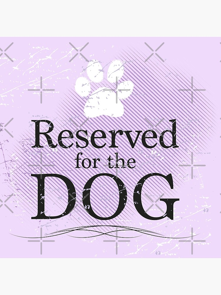 Reserved for the Dog [purple] by rescuedogs101