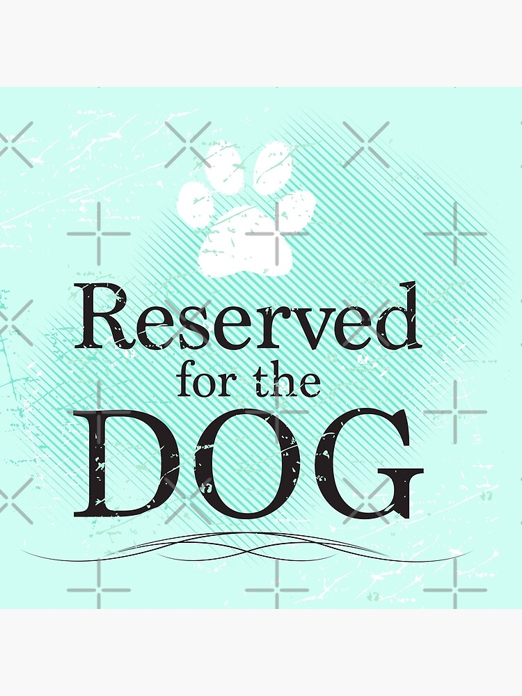 Reserved for the Dog [Teal] by rescuedogs101