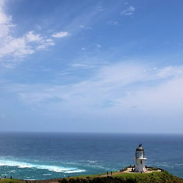 Light House of Cape Reinga - North Island New Zealand by jessannjo