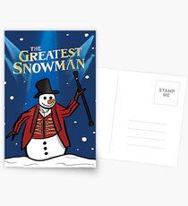 The Greatest Snowman  Postcards