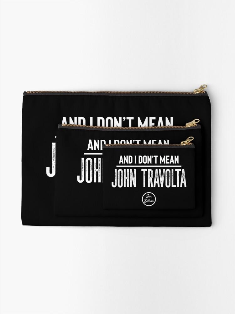 Alternative Ansicht von John Travolta Täschchen