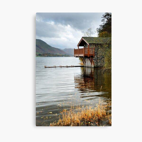 Ullswater Boat House Canvas Print