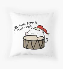 Pa-rum-pum-pum-pum! Throw Pillow