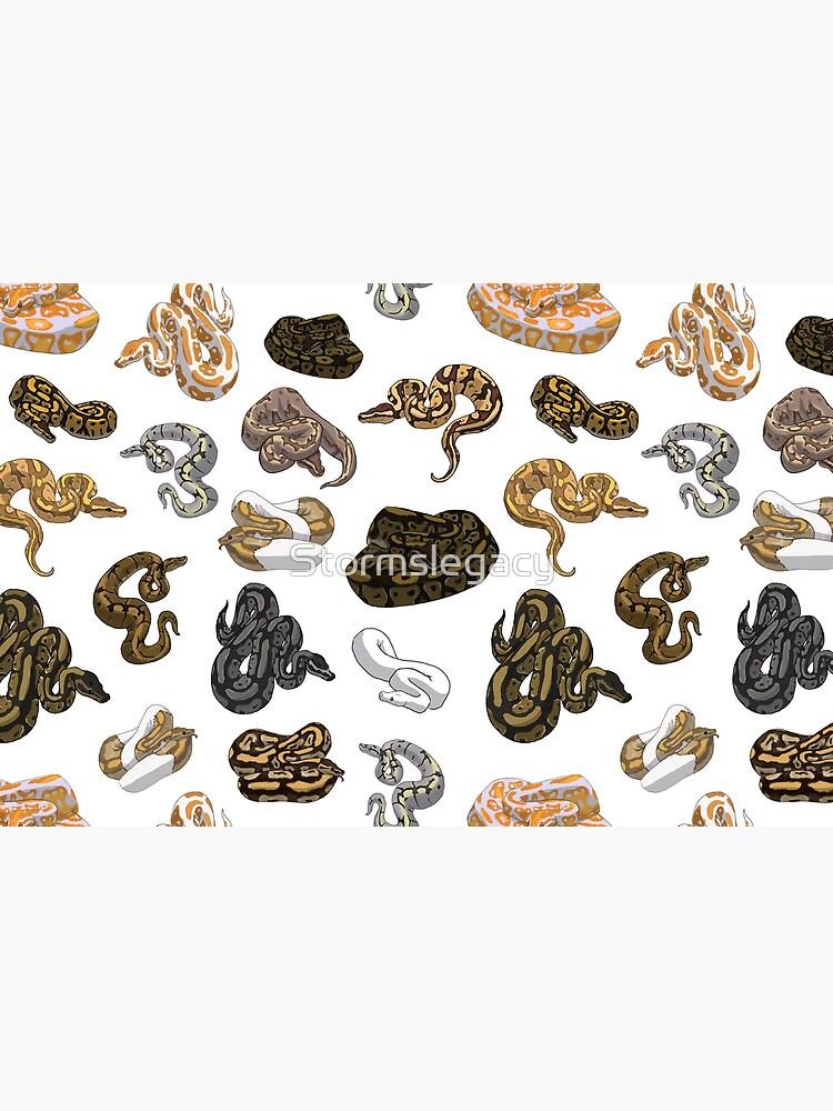 Ball Python Morph Snake Pattern by Stormslegacy