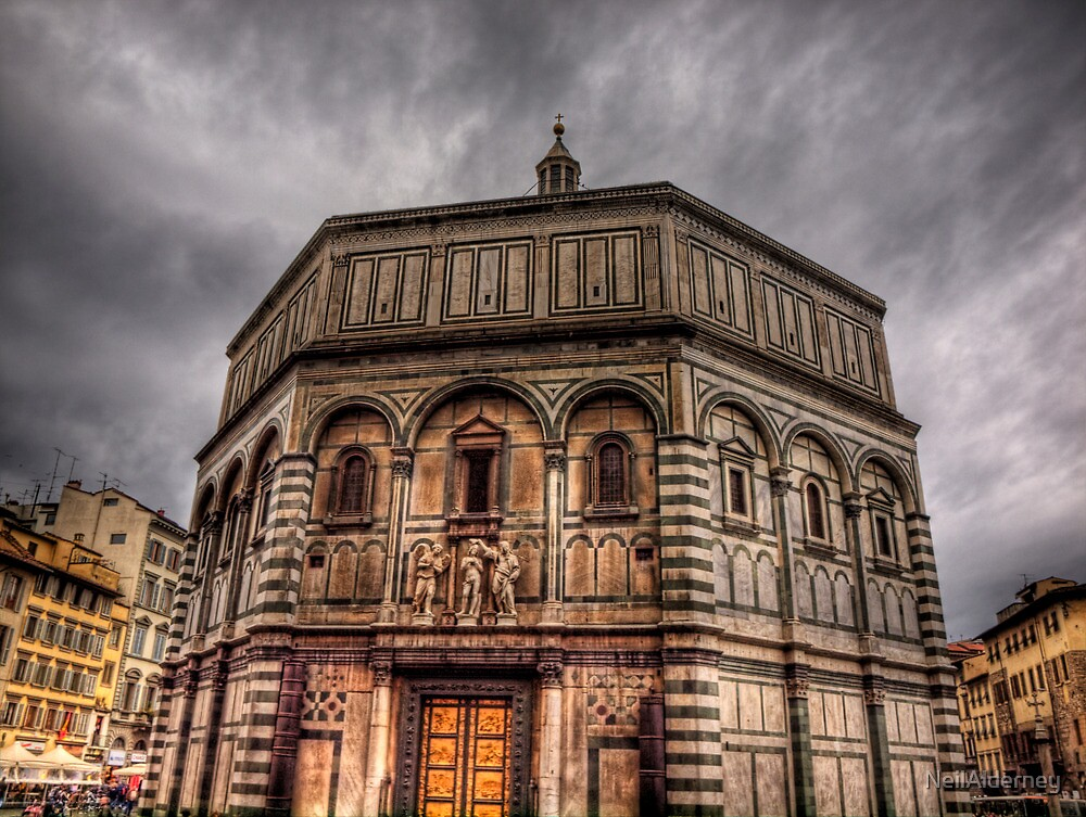 The Baptistery in Florence Cathedral by NeilAlderney