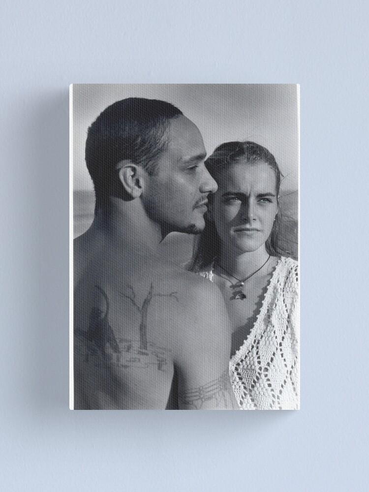 Alternate view of Australian Couple Canvas Print