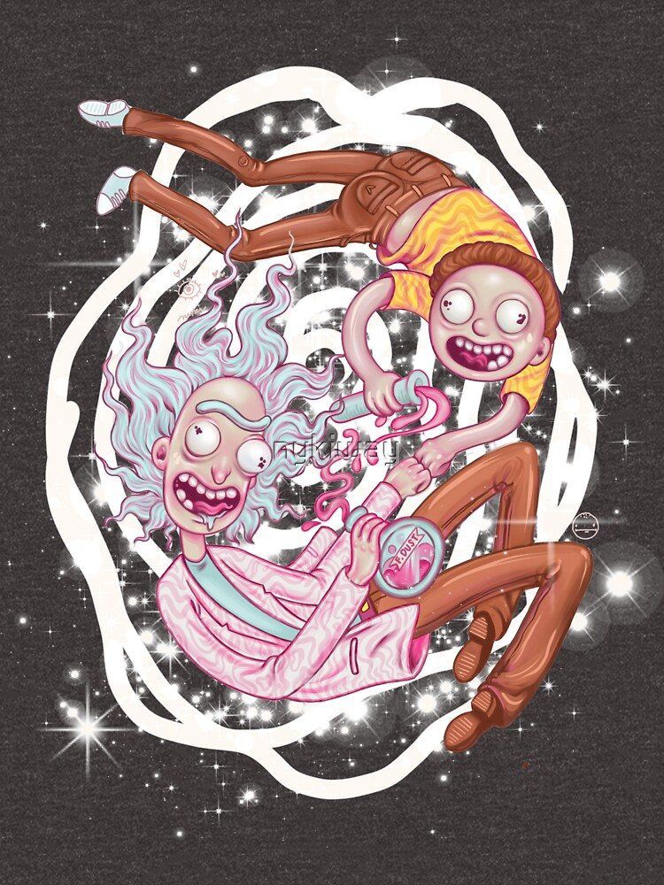 Rick and Morty - The Pastel Dimension by nykiway