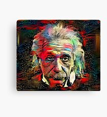 Dark Matter - Albert Einstein Canvas Print