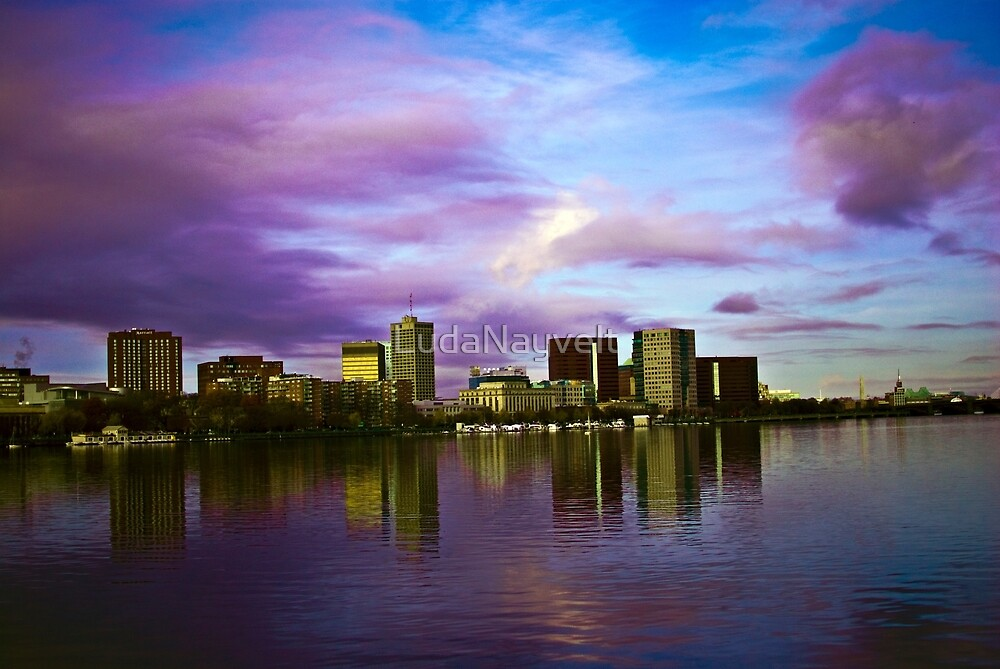 Cambridge in reflection  by LudaNayvelt