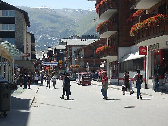 Tourism in Zermatt Switzerland by Monica Engeler