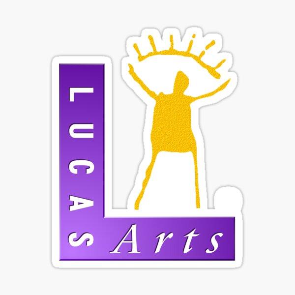 LucasArts logo Sticker